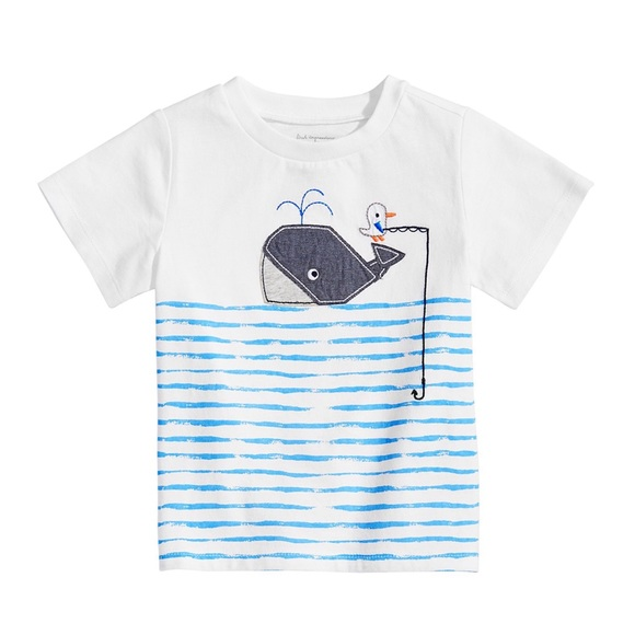 First Impressions Other - NWT First Impressions Whale Graphic T-Shirt 12mo